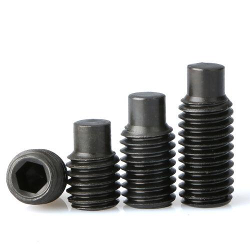 Gewindestifte mit Zapfen DIN 915-12,9 ISK Madenschrauben M3 M4 M5 M6 M8 M10