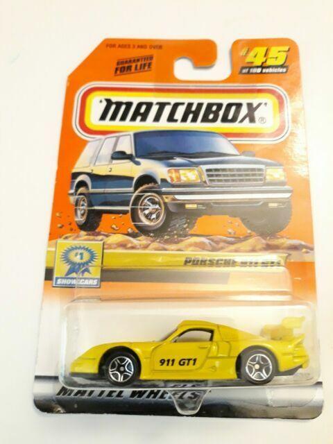 1998 MATCHBOX SUPERFAST #31 PORSCHE 911 GT1 NEW IN BOX