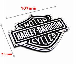 Metal-Sticker-Harley-Davidson-Chrome-Motorcycle-Body-Tank-Emblem-Badge-Large