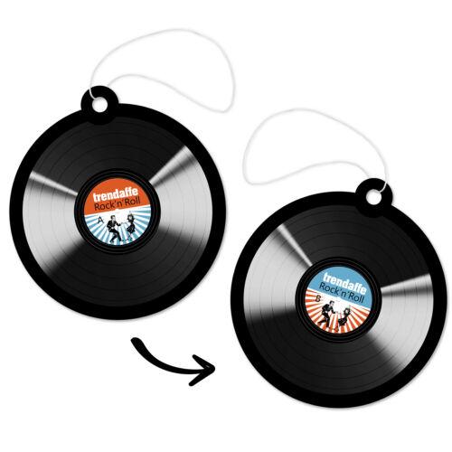 Lufterfrischer Schallplatte Rock/'n/'Roll Duftbaum Vinyl Schallplatte Retro
