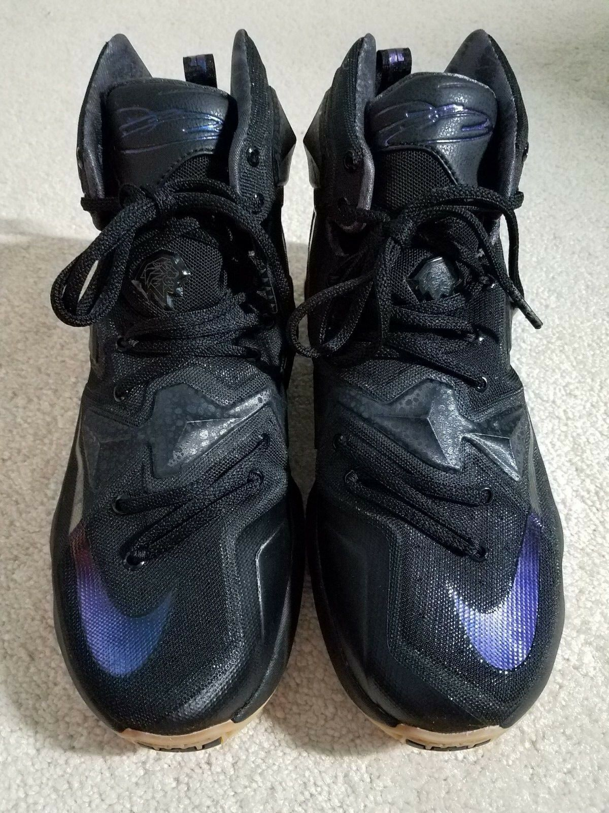 "separation shoes c4115 f70ef Nike LeBron 13 XIII ""Black ""Black ""Black Lion"" - size 9, LBJ ..."