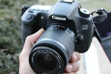 MINT Canon EOS 60D 18.0 MP Digital Camera with 50mm 1.8 Lens (4 LENSES)