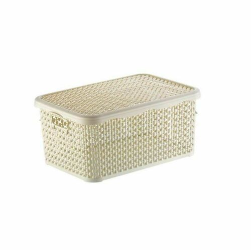 Multi Purpose Storage Box with Lid Pearl Container Case Organiser