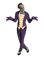 Joker Costume, Batman Joker Arkham City Outfit,std,cht 44,waist 30-34, Leg 33