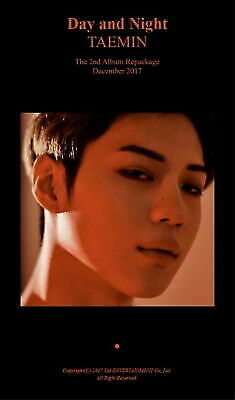 SHINee Taemin Move-ing Repackage 2nd Album CD Booklet Photocard KPOP for  sale online | eBay