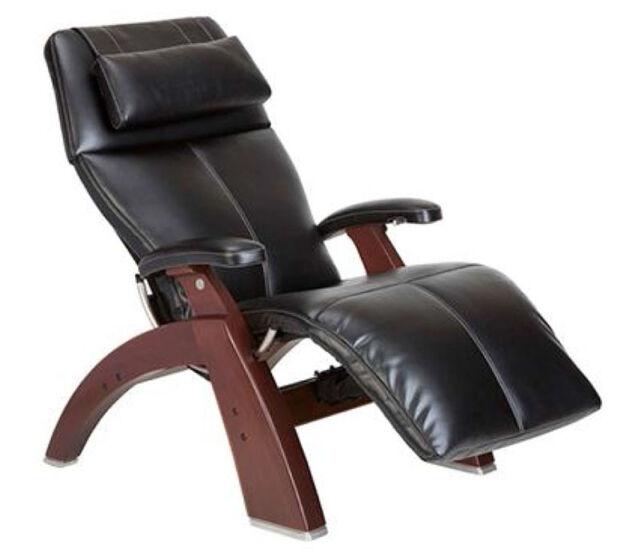 Super Small Human Touch The Chair Zero Gravity Black Premium Leather Recliner Machost Co Dining Chair Design Ideas Machostcouk