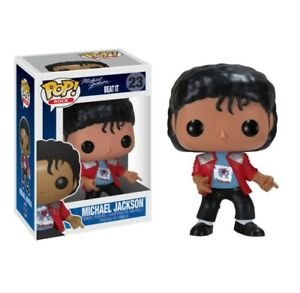 Funko Pop Michael Doll Action Toy Gift In Box King Red