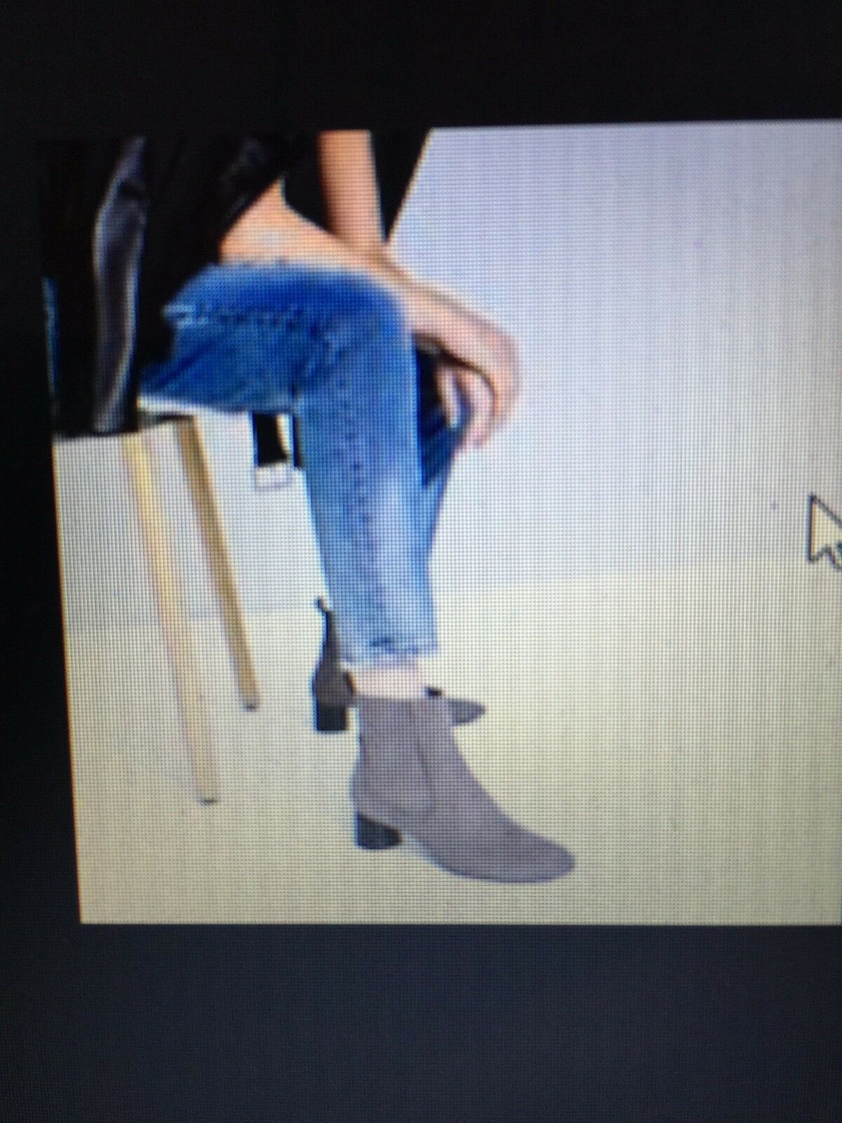 ZARA Woman Ankle Grau High Heel Pointed Ankle Woman Stiefel EU42/ US11 151716