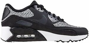 Details about Nike Air Max 90 Ultra 2.0 SE GS Trainers Shoes BlackGrey 917988 005