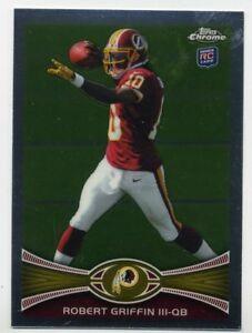 2012-Topps-Chrome-ROBERT-GRIFFIN-III-Rookie-Card-RC-200-Washington-Redskins
