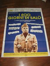 manifesto, I 600 GIORNI DI SALO' MUSSOLINI FASCISMO,rsi repubblica sociale