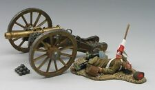 KING & COUNTRY CRIMEAN WAR CRW007 RUSSIAN CANNON & DEAD GUNNER MIB