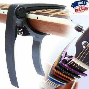 Premium-Guitar-Capo-Quick-Change-For-Acoustic-Electric-Classic-US