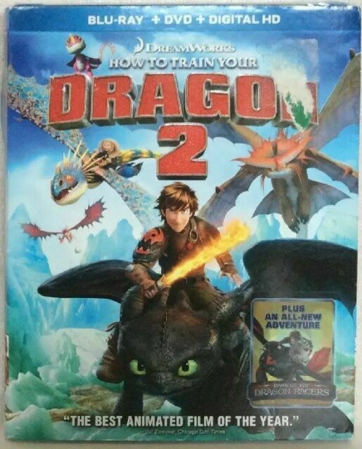 Dreamworks How To Train Your Dragon 2 Blu Ray 2014 For Sale Online Ebay