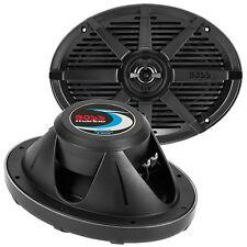 "Boss Audio MR692B Boss 6x9"" 2-way Coaxial Marine Speaker 350w Black"