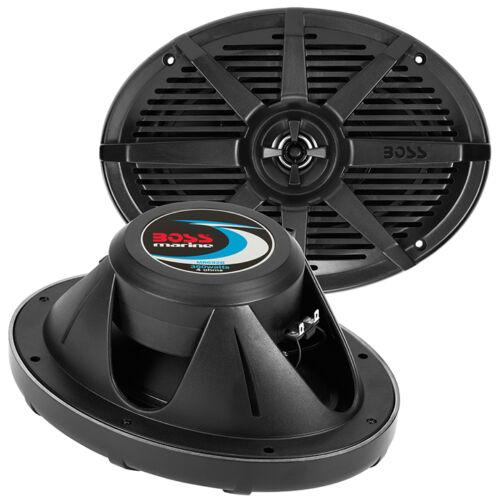 "Boss Audio MR692B Boss 6x9/"" 2-way Coaxial Marine Speaker 350w Black"