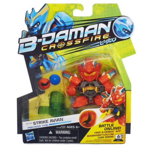 Personaggio B-Daman Action Figure Base Strike Avian A4451 A4448 Hasbro