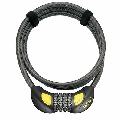 Onguard Combo Chain Lock 6mm 2`6`//76.2cm Combo Blk