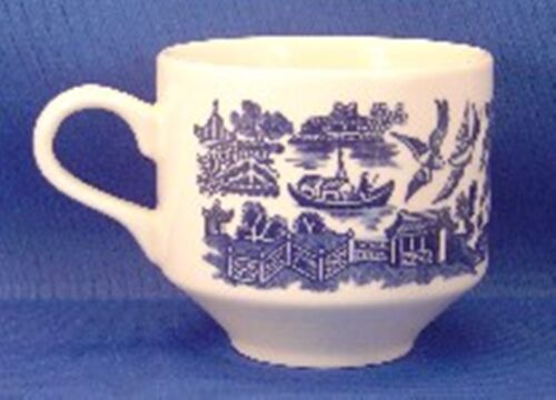 Churchill Blue Willow Cup s
