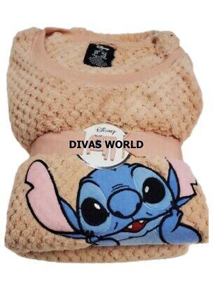 Disney Lilo /& Stitch Cosy Pyjama Set Soft Fleece Hoody Pj Gift Women/'s Primark