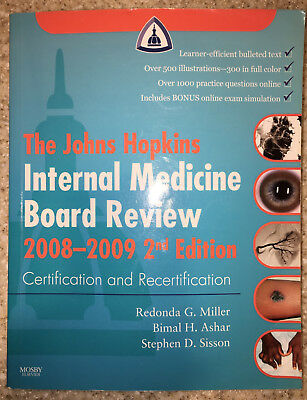 Johns Hopkins Internal Medical Board Review: The Johns Hopkins Internal  Medicine 9780323046992 | eBay