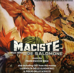 MACISTE NELLE MINIERE DI RE SALOMONE - FRANCESCO MASI (cd)