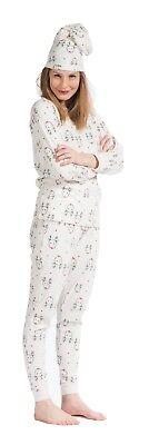 Eskimo Damen Schlafanzug Pyjama Mit Elchen Im Geschenkbeutel 111336101