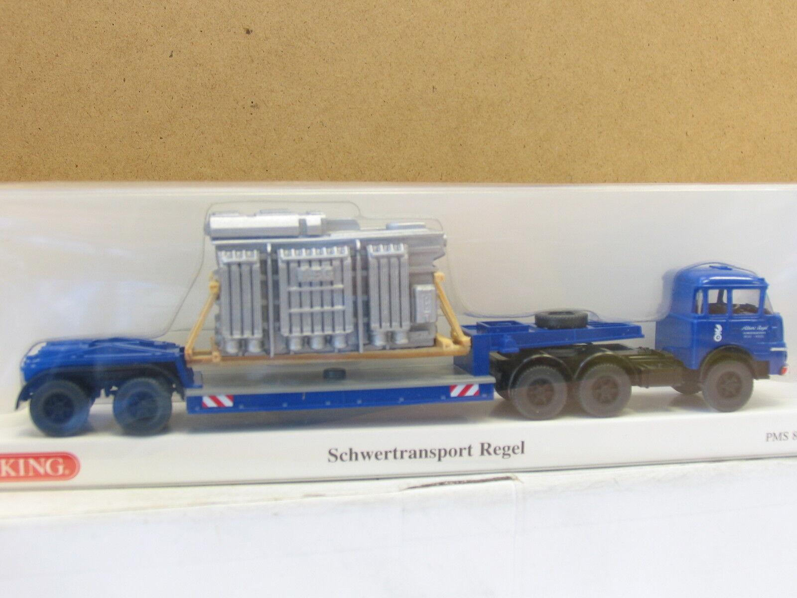 Wiking 82-23 pms Krupp 806 semi-remorque transformateur AEG OVP (u3833)