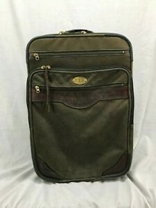 ORVIS-Vintage-Battenkill-Carry-On-Rolling-Luggage-Travel-Canvas-Sport-Fishing-Z9