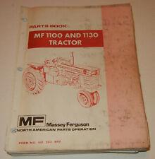 Massey Ferguson Mf1100 Amp Mf1130 Tractor 651203m97 Oem Factory Parts Catalog