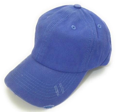 High Ponytail or Bun Ponycap Hat Cap Camo Blue Purple Black Gray Tan Khaki Brown