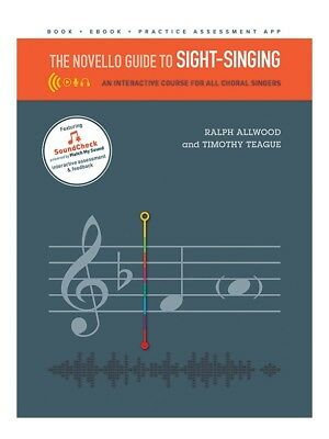 Musical Instruments & Gear Novello Guide To Sight-singing Voice Vocals Choral Learn Tutorial Music Book Voice