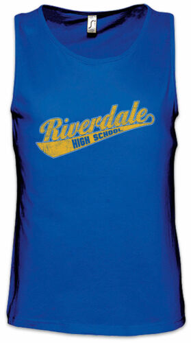 R High School Men Tank Top Riverdale Symbol Sign Logo Archie