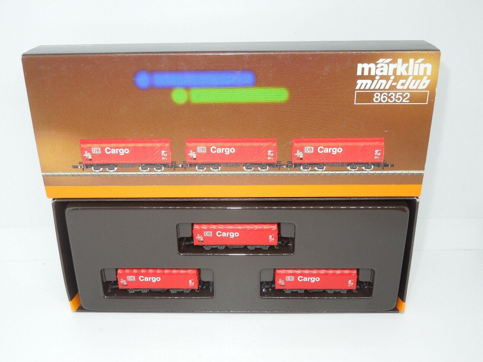 marklin miniclub 86352 PIANO SCORREVOLE Wagenset DB autoGO