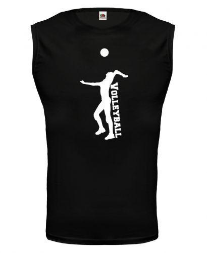 Unisex Muskelshirt ärmellos Tank Top Volleyball V2 Fanshirt Trikot Teamsport