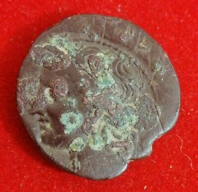 Byzantine (300-1400 Ad) Monnaie Carthage Zeugitane Trishekel Ou Triple Shekel Soft And Antislippery