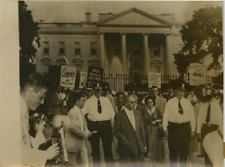 États-Unis, White House, Emanuel Hirsch Bloch Vintage print,Emanuel Hirsch Blo