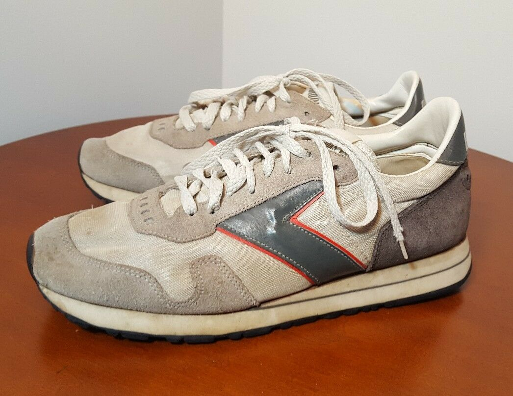 Vintage Brooks Mens Athletic Running shoes 8.5 1980s