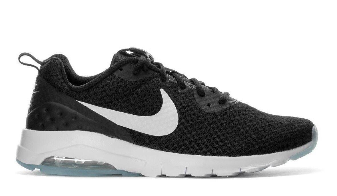 Nike Men's AIR MAX MOTION LW Running shoes Black White 833260-010 c