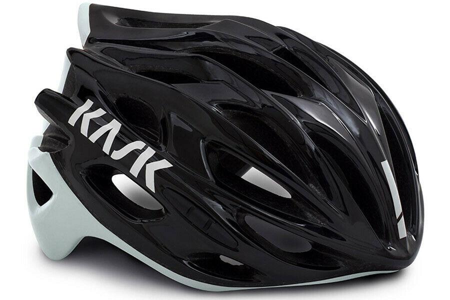 Kask Mojito X Bicicleta Casco Negro blancoo Talla L (59-62 Cm) - Nuevo En Caja