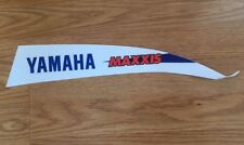 NEW! TEAM YAMAHA GRAPHIC DECAL YFZ450R YFZ 450R WHITE/BLUE MAXXIS TIRES RACING
