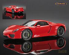 Porsche 918 Spyder 2013 geschlossen / closed, Spark Model 1:18, NEW, OVP, %