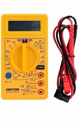 Dekton Digital Multimeter