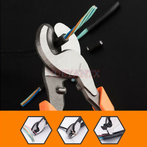 6-039-039-8-039-039-10-039-039-Cable-Cutter-Crimping-Pliers-Cutting-Electricial-Wire-Stripper-Tool