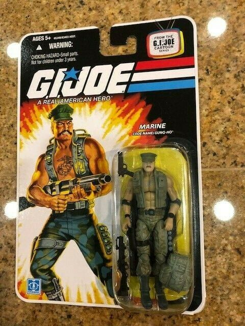 G.I. Joe 25th ANNIVERSARIOGUNGHOFoil autodNUOVO