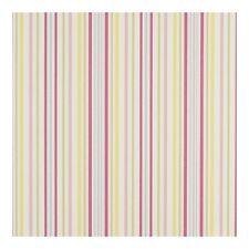 Clarke and Clarke Ella Stripe Sunshine Designer Curtain Upholstery Fabric