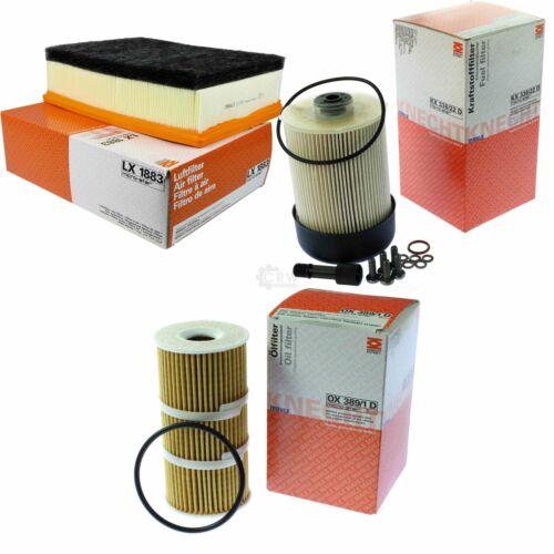 MOUDS//Wagenknecht carburant filtre KX 338//22d Filtre à Air Lx 1883 Filtre à huile OX 389//1d