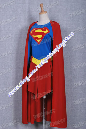 Superhero Cosplay Girl Costume Dress Cape Outfit Uniform Outfit In Stock