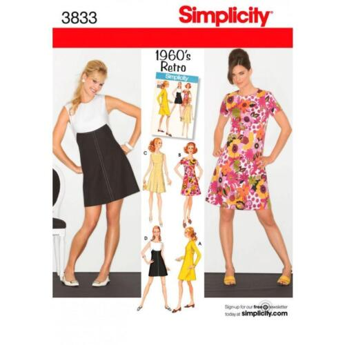 Simplicity Sewing Pattern 3823 Misses Halter Neck Dress 6-14 | eBay
