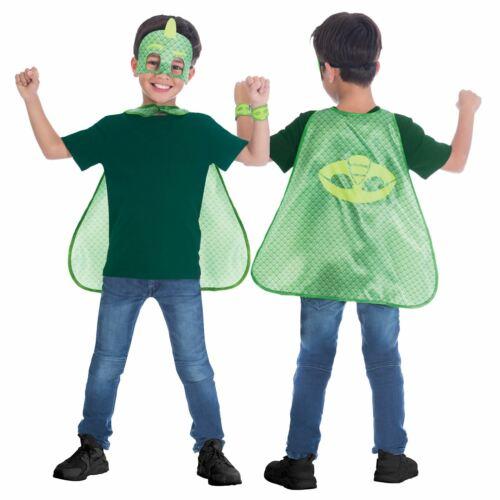 Offiziell Pj Masks Cape Maske Superheld Satz 4-8 Jahre Buch Maskenkostüm